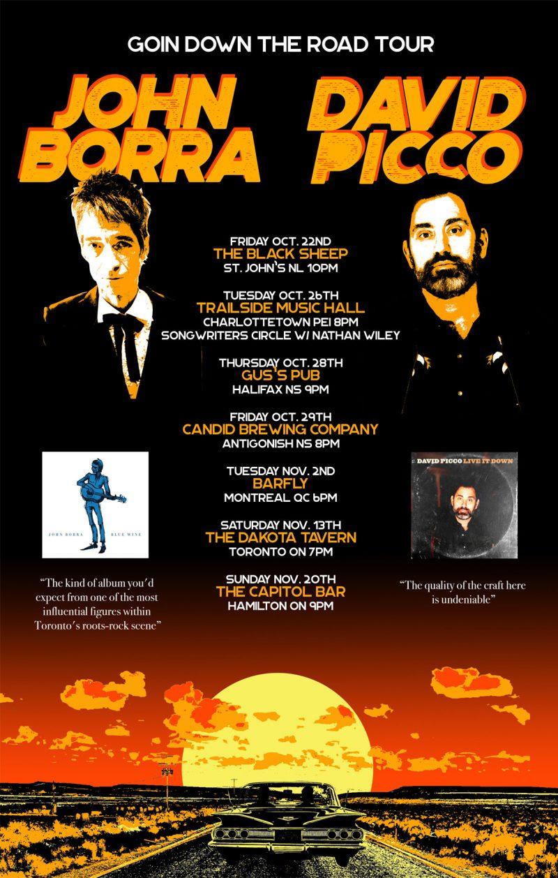 John Borra - David Picco Tour